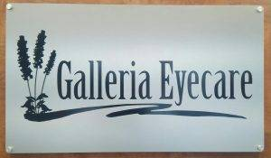 Galleria Eyecare Sign in Bee Cave